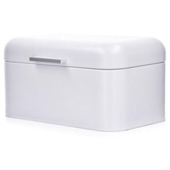 Chlebak DUKA DAGLIG 30x18x16 cm biały stal