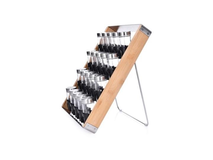 Stojak na przyprawy 2w1 DUKA KRYDDA 20 słoiczków drewno Zestaw do przypraw Kategoria Przyprawniki Kolor Czarny