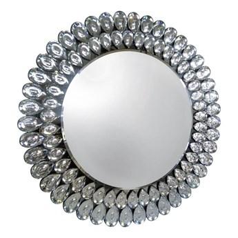Lustro z kryształkami Glamour Crystal  okrągłe 90