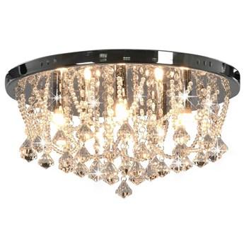 Okrągła lampa sufitowa w stylu glamour - EX811-Glamis