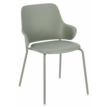 Szare krzesło minimalistyczne - Foxo
