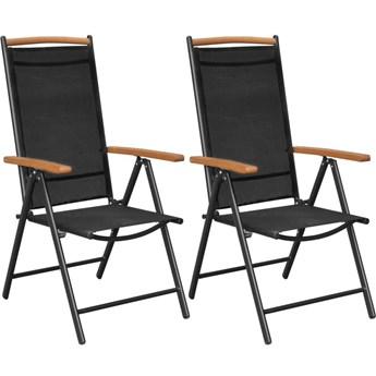 Składane krzesła ogrodowe Amareto 2 szt.