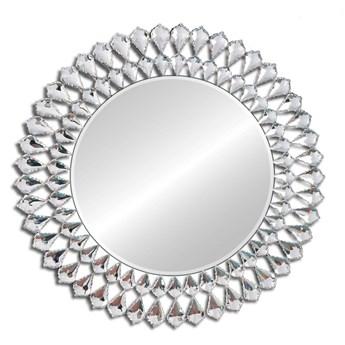 Lustro z kryształkami Glamour Marsylia  okrągłe 80