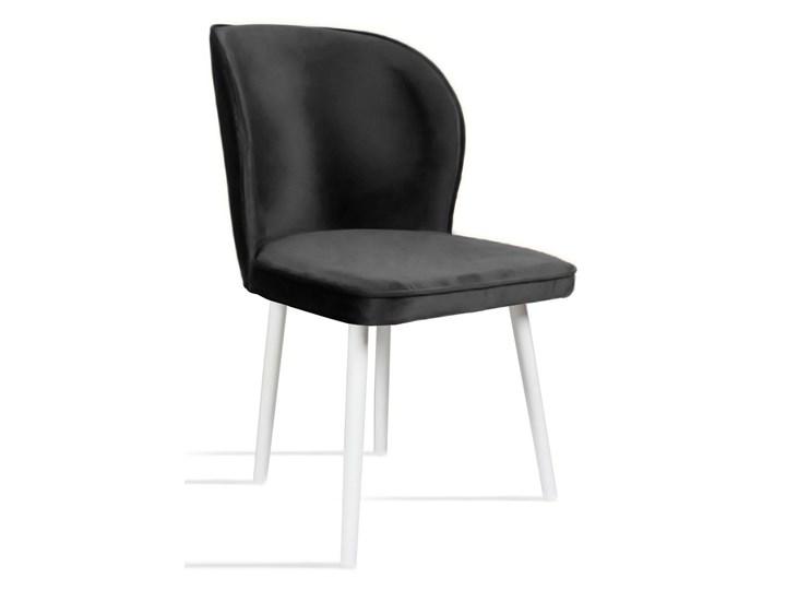 Bettso Krzesło RINO ciemny szary / PA06 Drewno Szerokość 87 cm Tkanina Szerokość 54 cm Wysokość 46 cm Wysokość 87 cm Głębokość 60 cm Głębokość 47 cm Kolor Czarny