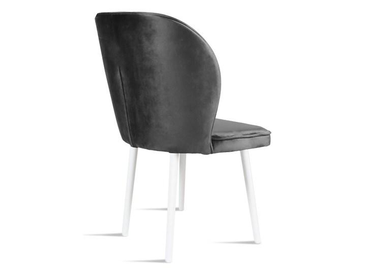 Bettso Krzesło RINO ciemny szary / PA06 Szerokość 87 cm Szerokość 54 cm Wysokość 46 cm Głębokość 47 cm Wysokość 87 cm Głębokość 60 cm Drewno Tkanina Pomieszczenie Jadalnia