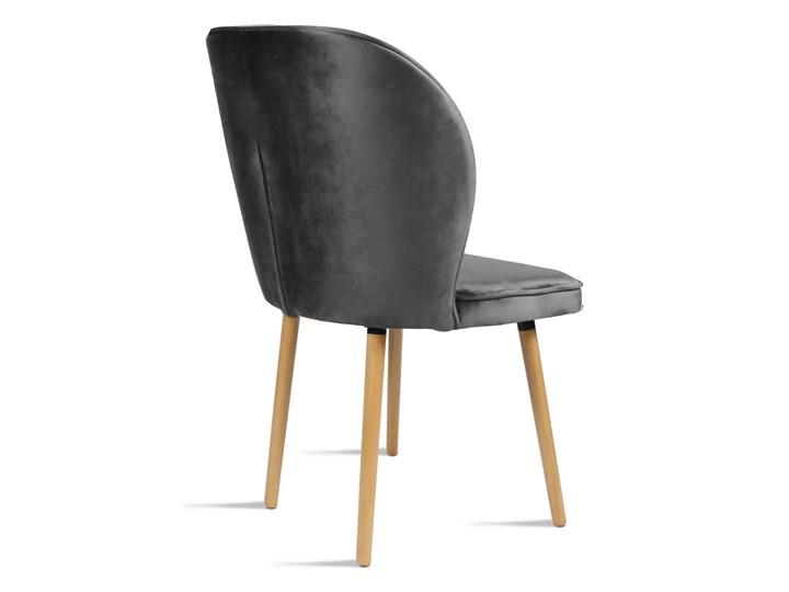 Bettso Krzesło RINO ciemny szary / PA06 Tkanina Szerokość 54 cm Głębokość 60 cm Drewno Wysokość 46 cm Głębokość 47 cm Szerokość 87 cm Wysokość 87 cm Pomieszczenie Jadalnia