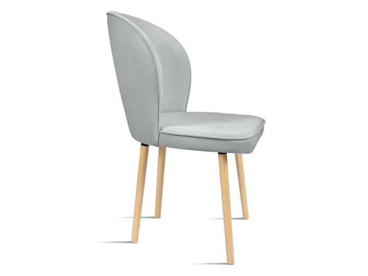 Bettso Krzesło RINO jasny szary / PA05 Tapicerowane Szerokość 87 cm Drewno Głębokość 60 cm Szerokość 54 cm Styl Nowoczesny Wysokość 46 cm Głębokość 47 cm Wysokość 87 cm Tkanina Kategoria Krzesła kuchenne