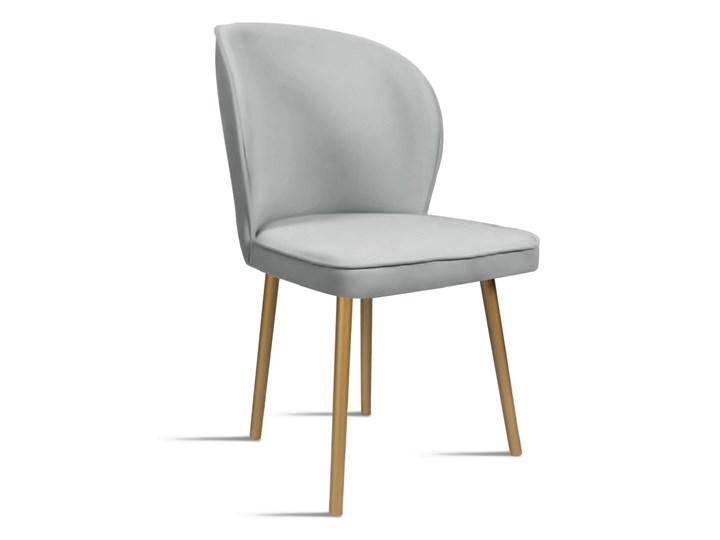 Bettso Krzesło RINO jasny szary / PA05 Wysokość 46 cm Głębokość 60 cm Szerokość 54 cm Wysokość 87 cm Tkanina Drewno Tapicerowane Głębokość 47 cm Szerokość 87 cm Styl Nowoczesny Kategoria Krzesła kuchenne