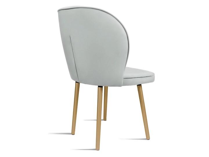 Bettso Krzesło RINO jasny szary / PA05 Drewno Tkanina Wysokość 87 cm Szerokość 54 cm Głębokość 60 cm Tapicerowane Głębokość 47 cm Szerokość 87 cm Wysokość 46 cm Styl Nowoczesny