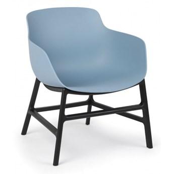 Krzesło konferencyjne BARI, niebieskie