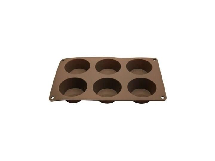 Forma do pieczenia FLORINA Anide Do muffinek Kategoria Formy i foremki Silikon Kolor Brązowy