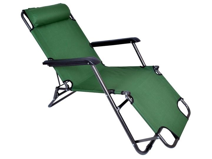 Fotel Leżak ogrodowy LEON ZIELONY