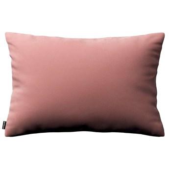 Poszewka Kinga na poduszkę prostokątną, koralowy róż, 60 × 40 cm, Velvet