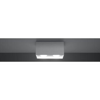 SOLLUX Ekskluzywna Lampa na Sufit Plafon QUAD MAXI Biały Prostokąt Oświetlenie LED