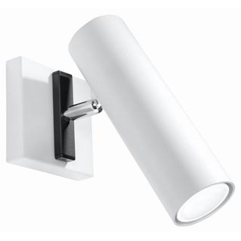 SOLLUX Nowoczesna Funkcjonalna Lampa Kinkiet na ścianę DIREZIONE BIAŁY Oprawa Ścienna Oświetleniowa Gu10 LED