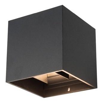 LED Zewnętrzna lampa sufitowa RIKO 2xLED/4W/230V czarna IP44
