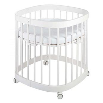 Białe wielofunkcyjne łóżeczko dziecięce - Nando 2X