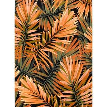 Dywan Free Exotic Czarny-Pomarańczowy