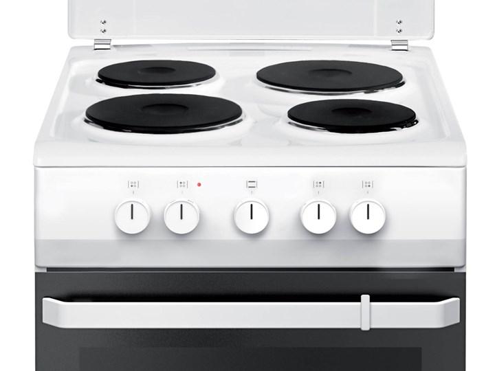Kuchnia elektryczna Amica 58EE1.20W Szerokość 50 cm Rodzaj płyty grzewczej Ceramiczna