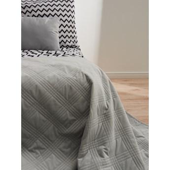 Sinsay - Narzuta na łóżko 220x240 - Jasny szary