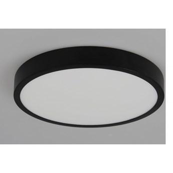 LM P 802/18W BK PLAFON CZARNY NOWOCZESNA LAMPA SUFITOWA NATYNKOWA śr.19cm LED 18W 3000K 1380lm=100W WYS.2,3CM