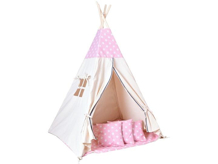 Namiot Tipi dla dzieci różowy w gwiazdki Wiek dziecka dla malucha (2-5lat) Kategoria Namioty dla dzieci