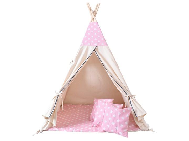 Namiot Tipi dla dzieci różowy w gwiazdki Kategoria Namioty dla dzieci