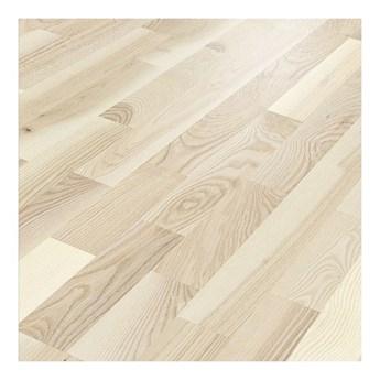Deska trójwarstwowa Jesion Lakierowany Biały 3-lamelowa 1,58 m2