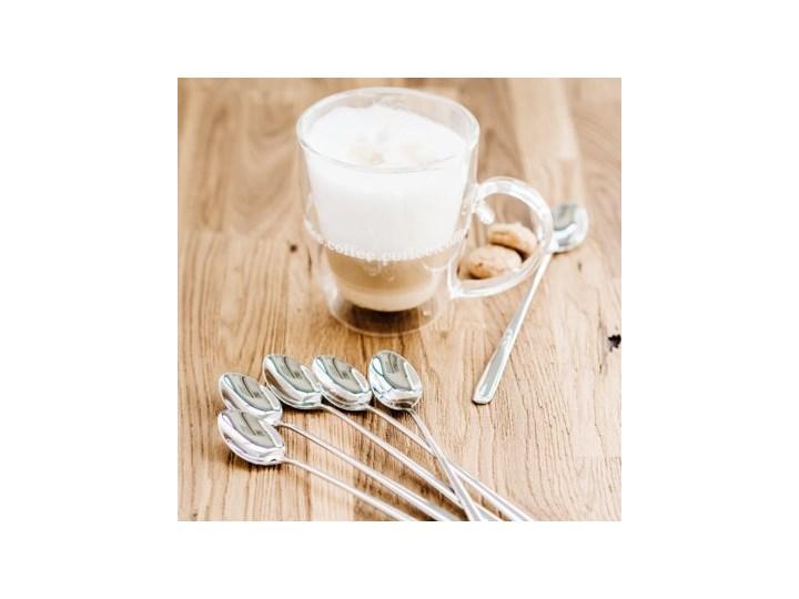 TROPEA ZESTAW 6 ŁYŻECZEK DO LATTE Łyżka do latte Stal Kategoria Łyżki