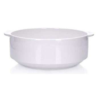 Miseczka bulionówka DUKA STAPEL 250 ml biała porcelana