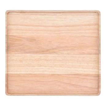 Podstawka pod naczynia taca DUKA MODULAR 15x11x2 cm brązowa drewno