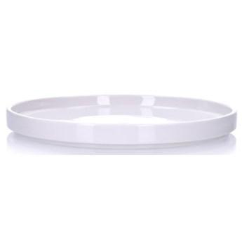 Talerzyk deserowy DUKA STAPEL 15 cm biały porcelana