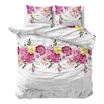 Flanelowa pościel dwuosobowa Sleeptime Love Garden, 200x220 cm