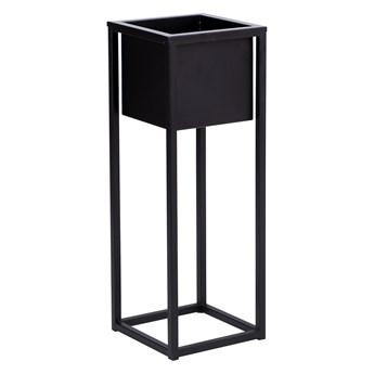 Kwietnik Concove 40 cm czarny