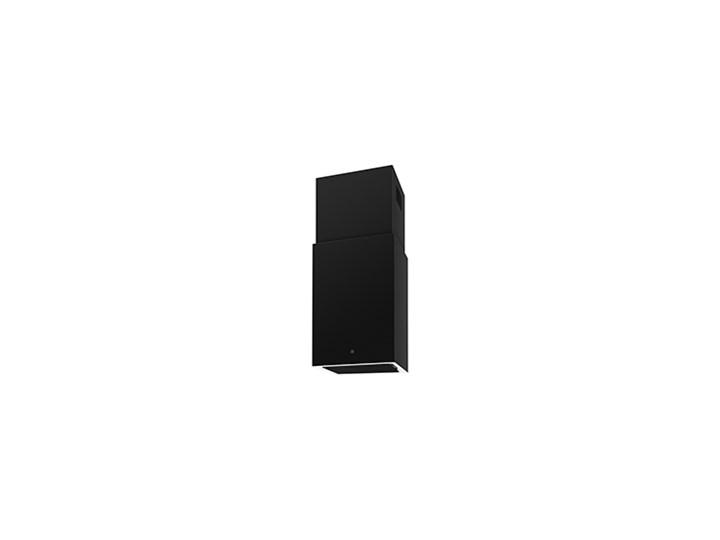 Cube W Czarny Pochłaniacz z filtrem węglowym Kategoria Okapy