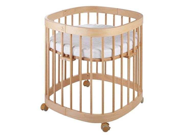 Bukowe wielofunkcyjne łóżeczko dziecięce - Nando 3X Drewno Kategoria