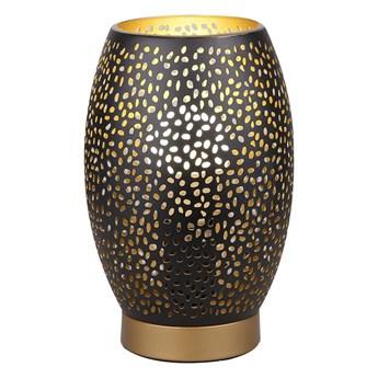 Lampa stołowa Venus 1xE27/60W/230V czarny/złoty