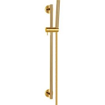 Zestaw prysznicowy OMNIRES Microphone MICROPHONE-SGL Złoty