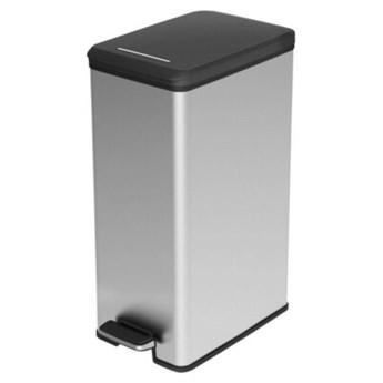 Kosz na śmieci CURVER Slim 213298 40L Srebrny