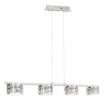 LED Żyrandol kryształowy na lince ALEX 4xLED/20W/230V