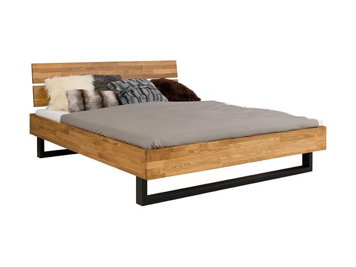 Łóżko dębowe FADO Style (160x200) Soolido Meble Łóżko drewniane Kategoria Łóżka do sypialni Kolor Brązowy
