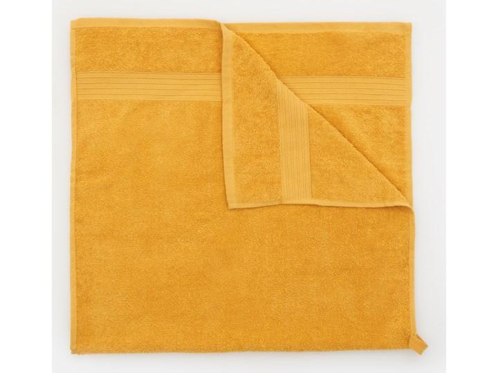 Sinsay - Bawełniany ręcznik 50x100 - Żółty Bawełna 50x100 cm Kategoria Ręczniki