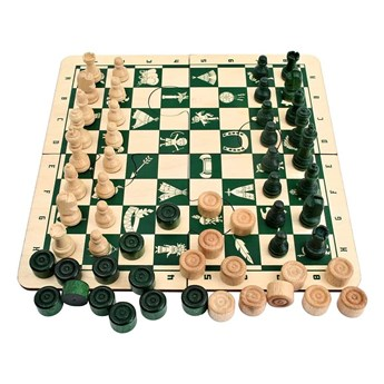Puzzle Indiańskie Zielone