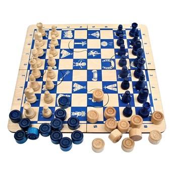 Puzzle Indiańskie Niebieskie