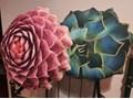Poduszka Suculent  Aloes Wzór Roślinny Poduszka dekoracyjna Nieregularne Wzór Z nadrukiem
