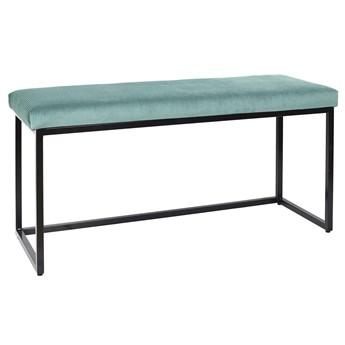 Tapicerowana ławka z aksamitnym siedziskiem Donore