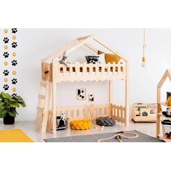 Łóżko piętrowe do pokoju dziecięcego - Zorin 3X