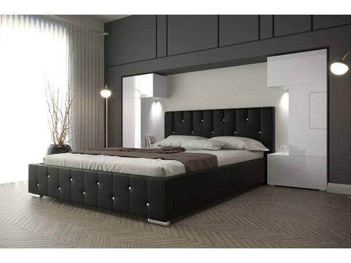 Sypialnia Łóżko Z Szafkami Panama 3 Kolor Biały Kategoria Zestawy mebli do sypialni