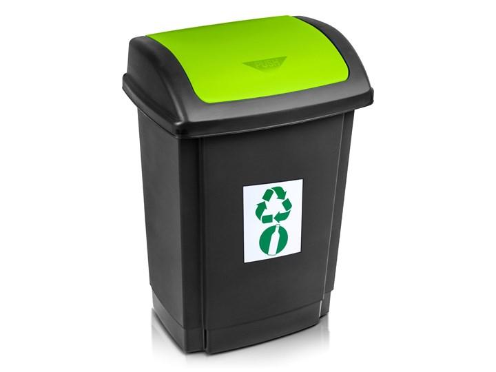 Kosz do segregacji śmieci SWING z pokrywą 25 L - oficjalny sklep internetowy YORK Tworzywo sztuczne Kosz z pokrywą Metal Kategoria Kosze na śmieci