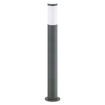Lampa stojąca Polux Oslo LED 10W E27 IP44 szara 45 cm